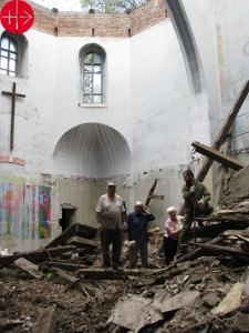"UKRAINE / KHARKIV-ZAPORIZHZHYA-LAT 09/00073 Renovation of the Church ""sv. Yosyfa""in Dnipropetrovsk Ukraine, Kharkiv-Zaporizhzhya-LAT diocese 21.08.2009 Illegally expropriated church building  of the church of Saint Joseph in Dnepropetrowsk is finally returned to the Catholic Church after years l"