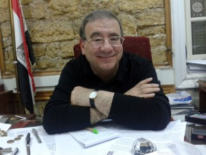Father (Antoine) Rafic Greiche, a Greek Catholic priest and the press spokesman for the Greek Melkite Catholic Church in Egypt. The departure of President Morsi has been seen as ''God's miracle''.