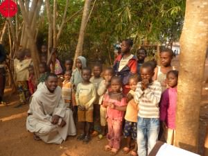 Central African Republic, Bangui: Refugee Camp on the compound o