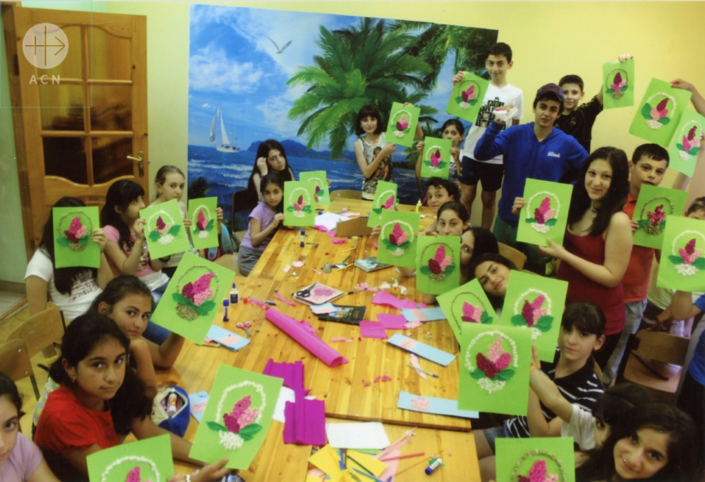 Catechetical summer camp for children of Armenian communities in Russia in 2014