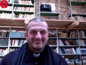 Fr Jacques Mourad from Mar Ellian Monastery in Syria. He has bee