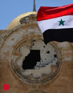 Already 5 years of conflict in Syria.