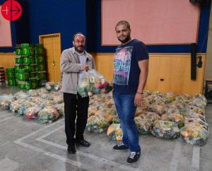 "Fr. Walid Iskandafy M.S.P. running our project for the IDPs in Maarmarita together with a lay volunteer Marmarita is a village in northwestern Syria. Marmarita is one of the largest villages in Wadi al-Nasarah, which means ""Valley of Christians"", a region north of Talkalakh. The population is Greek Orthodox. Marmarita used to be  a popular summer destination and tourist attraction in Syria. Now, many Internally Displaced Peoples found a refuge here Syria 2015 May, Marmarita SYRIA / NATIONAL 15/00147 Emergency support in the Valley of Christians, Marmarita, Governorate of Homs, January to June 2015"