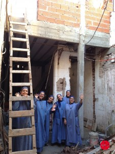 Construction of a chapel at the monastery light of the Gospel, little sisters of the lamb - dominicans (additional aid)