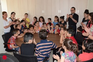 Lebanon: exemple of pastoral projects to the refugees children of Syria and Iraq.