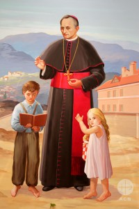 A painting of Mgr. Josip Stadler (1843 – 1918). He's the founder of the orphanage and the Congregation. In addition, he was consider by many as « father of the poors » in his country.