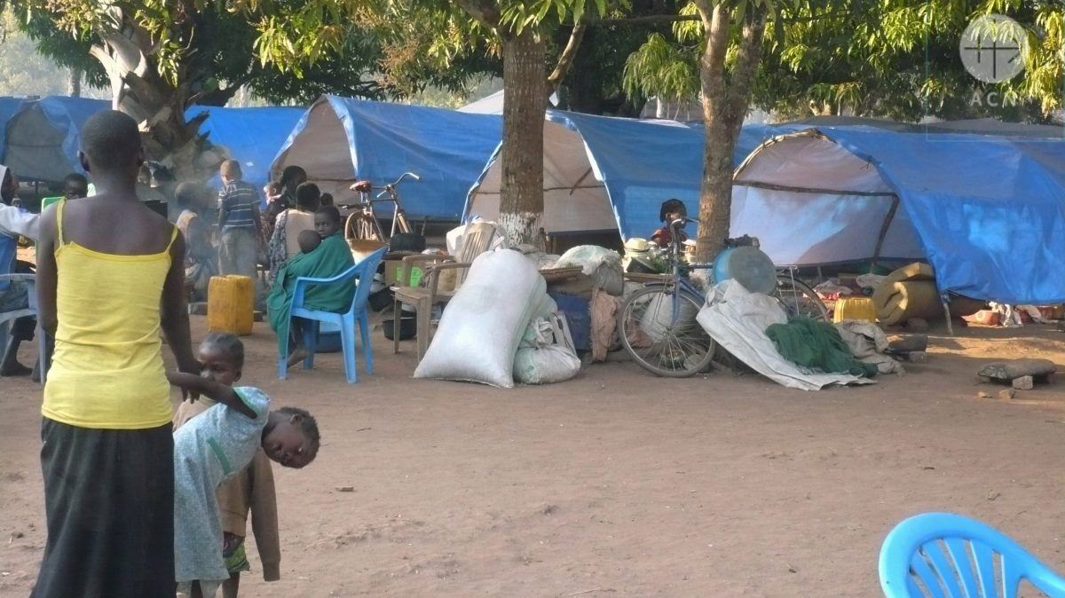 Displaced People in Riimenze, South Sudan