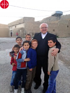 Iraq, 26.03.2015Father Andrzej Halemba (project officer for Mid